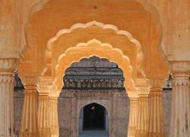 bärnsten palats i jaipur, Indien foto