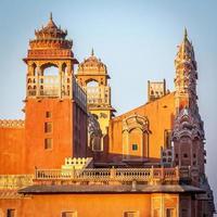 hawa mahal palace (vindens palats), jaipur, rajasthan foto