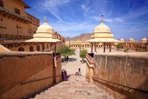 bärnsten fort, jaipur, rajasthan, Indien foto