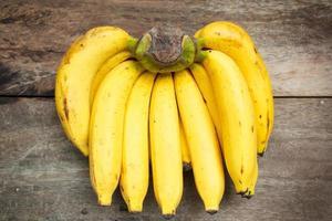 massa bananer. foto