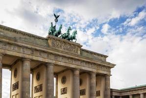 brandenburg gate, berlin foto