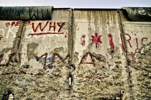 Berlinmuren foto