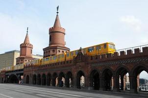 oberbaumbrücke, berlin foto