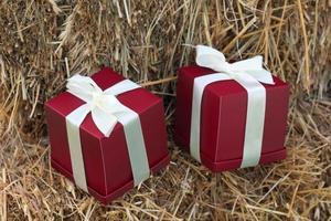 romantiska presentförpackningar foto