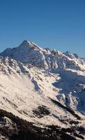 verbierade skidområdet foto