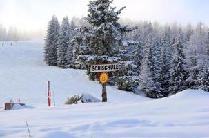 skidort zillertal arena. gerlos, österrike. foto