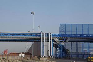 industriella VVS-anläggningar i fabriken foto