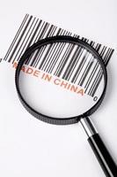 """""""tillverkad i Kina"""" foto"""