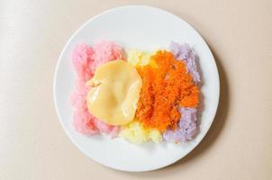 ris vaniljsås foto