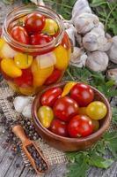 konserverad tomat foto
