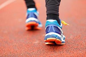 springa och jogga foto