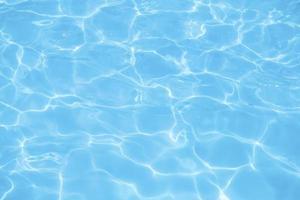 blått vatten foto