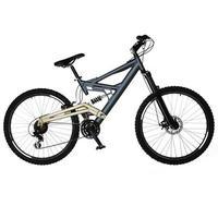 isolerad cykel foto
