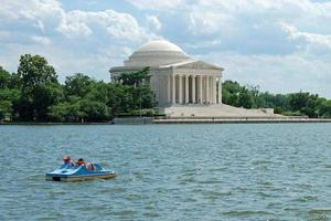 jefferson memorial i Washington DC foto