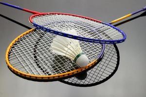 badmintonuppsättning foto