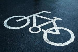 cykelfält foto