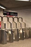 usa - new york - new york, tunnelbana foto