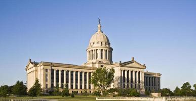 oklahoma - statens huvudstad foto