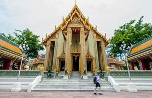 grand palace i bangkok - templet för smaragd buddha foto