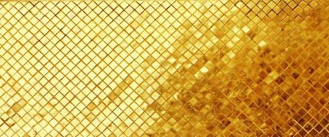 guld kakel mosaik bakgrund. foto