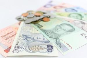 thailändska pengar foto