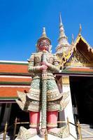 demon vid bangkok kungliga palats foto
