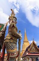 royal grand palace, thailand foto