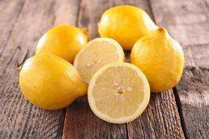 färsk citron foto