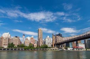 new york bostadshus vid östra floden foto