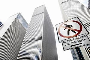 skyskrapor, New York foto