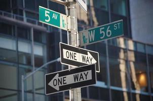 femte avenyn på 56th street foto