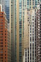 skyskrapor i New York foto