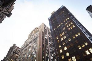 företagsbyggnader New York foto