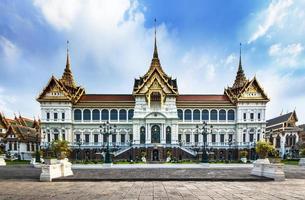 grand palace (templet för smaragd buddha), attraktioner i bangkok, Thailand. foto