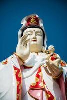 guan yin (barmhjärtighetens gudinna) foto