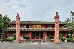 qingyang gong tempel chengdu sichuan porslin foto