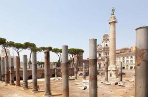 forntida Rom gammal ruinarkeologi foto