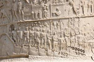 romerskt forum i Rom, Italien foto