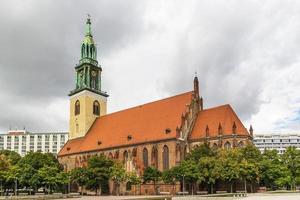 st. mary kyrka, berlin foto