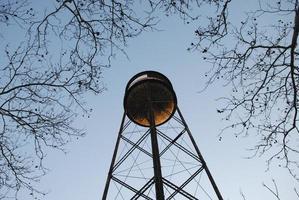 vattentorn i brooklyn, ny foto