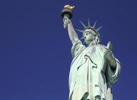 frihetsstaty, New York City, USA foto