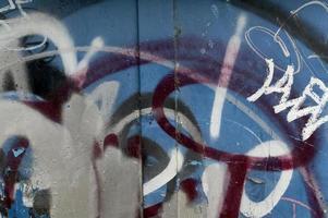 graffiti abstrakt 3 foto