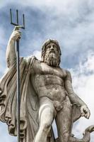 staty av Neptunus foto