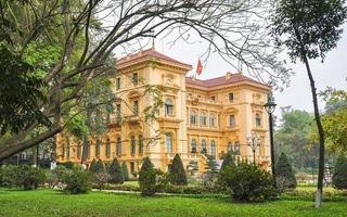 presidentpalatset - hanoi, Vietnam foto