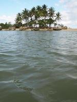 morro de sao paulo beach. salvador da bahia. Brasilien foto