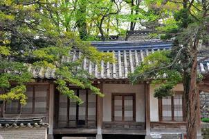 hemlig trädgård (huwon) foto