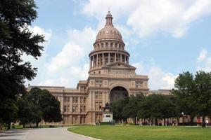 texas statliga huvudstadsbyggnad i centrala austin, texas foto