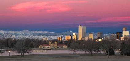 denver, colorado centrum skyline