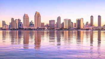 centrum av San Diego, Kalifornien, USA foto