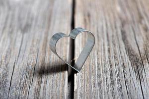 Alla hjärtans dag bakgrund med hjärta foto
